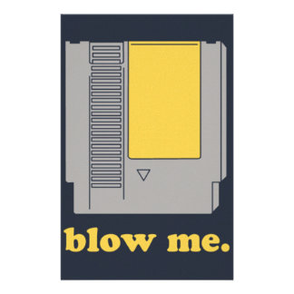Blow me stationery