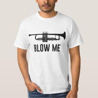 Blow Me Trumpet Tee Shirt
