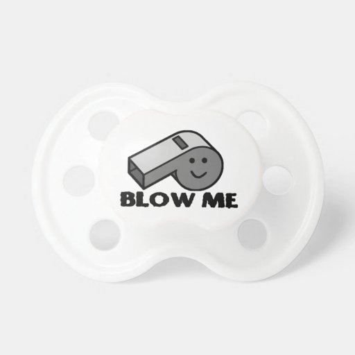 Blow Me Whistle Pacifier