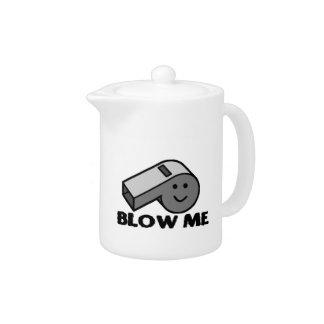 Blow Me Whistle Teapot