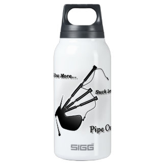 Blow More... Suck Less... (Modern) Insulated Water Bottle