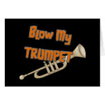 Blow My Trumpet Greeting Card