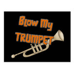 Blow My Trumpet Postcard
