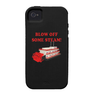 Blow Off Some Steam iPhone 4 Cover