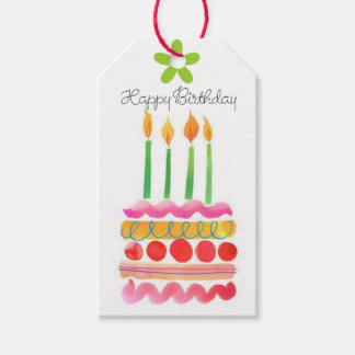 Blow Out the Birthday Candles Gift Tags Pack Of Gift Tags