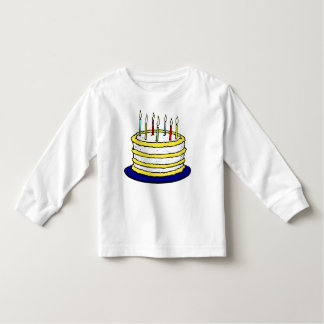 Blow Out the Candles on the Birthday Cake Toddler T-shirt