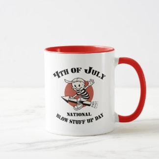 Blow Stuff Up Day Mug