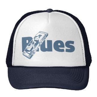 Blow The Blues Mesh Hat