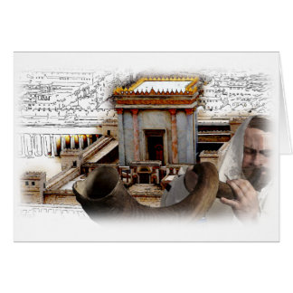 Blow the Shofar in Zion Card