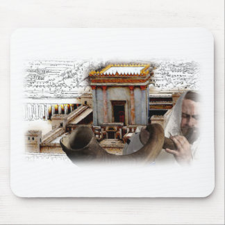 Blow the Shofar in Zion Mouse Pad