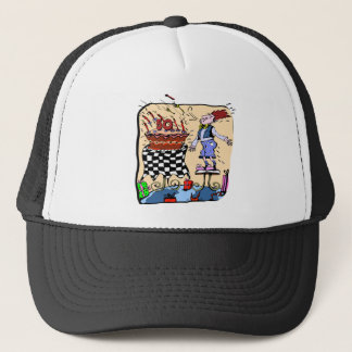 Blow Those Candles 50th Birthday Gifts Trucker Hat