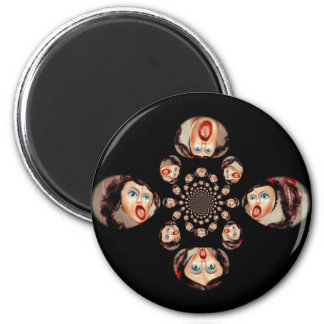 Blow-Up Frenzy! 2 Inch Round Magnet