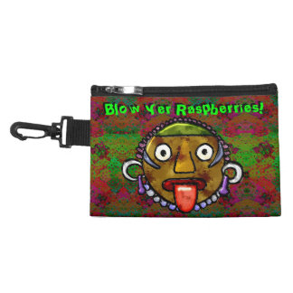Blow Yer Raspberries! - Personalized Accessories Bags