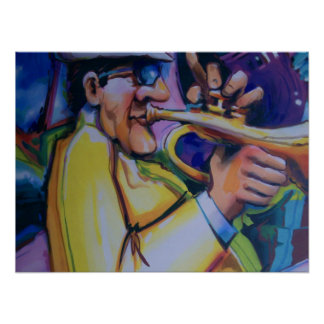blow your funky horn print