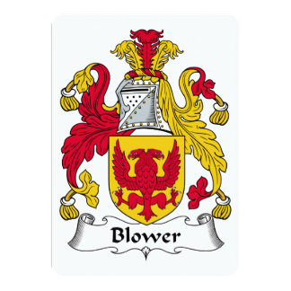 Blower Family Crest Card