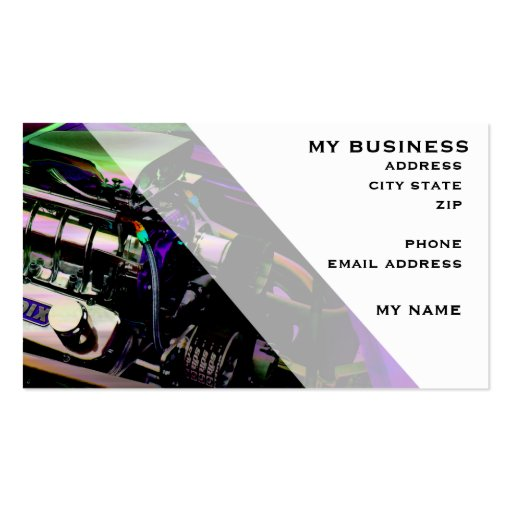 Blowers a go go double sided standard business cards pack for Go business cards