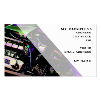 Blowers A-Go-Go Business Card Templates