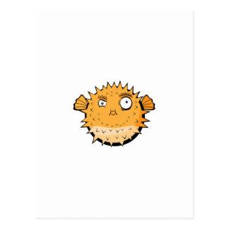Blowfish Postcard