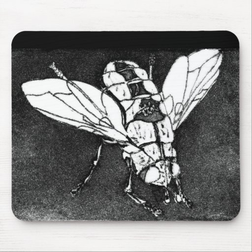 Blowfly Mouse Pads