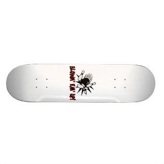 Blowin Em Up Bowling Pins Skateboard Deck