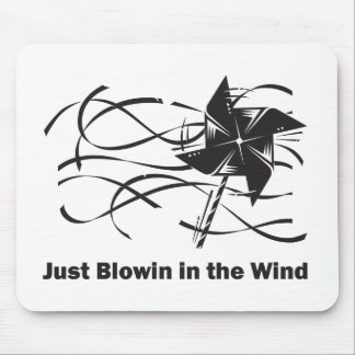 Blowin in the Wind Mouse Pad