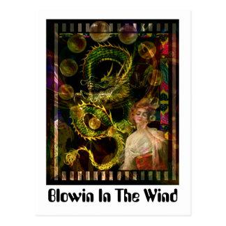 Blowin In The Wind Postcard