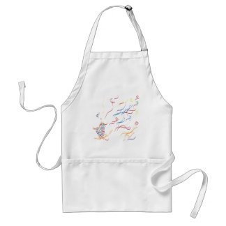 Blowing Away Adult Apron