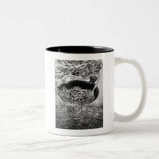 Blowing Away Two-Tone Coffee Mug