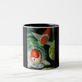 Blowing Bubbles 2 tone Mug