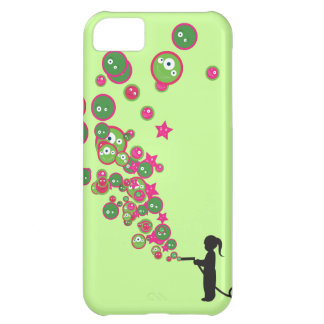 Blowing Bubbles iPhone 5C Covers