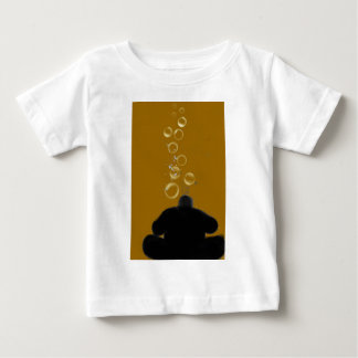 Blowing Bubbles - Digital Painting Baby T-Shirt