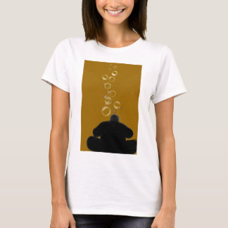 Blowing Bubbles - Digital Painting T-Shirt