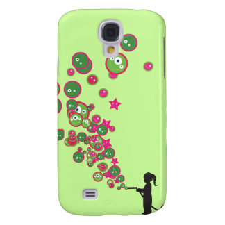 Blowing Bubbles Galaxy S4 Cover