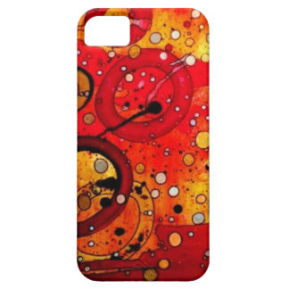 Blowing Bubbles in the Sunset iPhone SE/5/5s Case