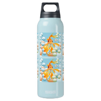 Blowing Bubbles Insulated Water Bottle