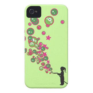 Blowing Bubbles iPhone 4 Case