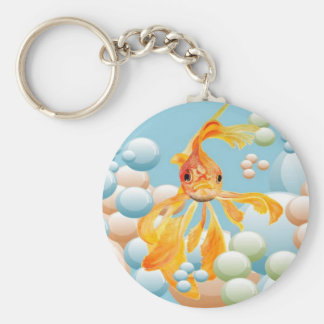 Blowing Bubbles Keychain