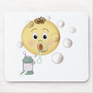 Blowing Bubbles Mouse Pad
