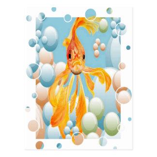 Blowing Bubbles Postcard