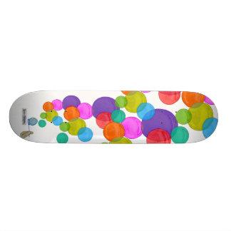 Blowing Bubbles (Rainbow) Skateboard Deck