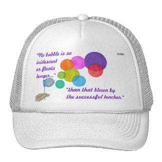 Blowing Bubbles (Rainbow) Trucker Hat