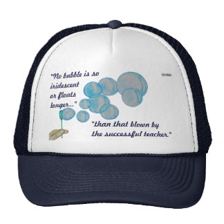 Blowing Bubbles Trucker Hat