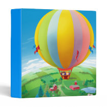 Blowing In The Wind 3 Ring Binder