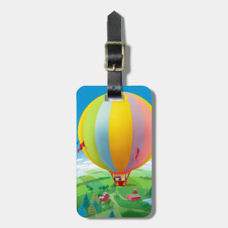 Blowing In The Wind Tag For Luggage