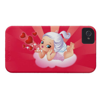 Blowing Kisses iPhone 4 Case