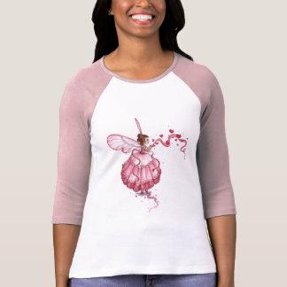 Blowing Pink Hearts T-Shirt