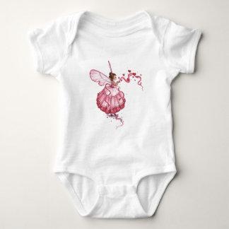 Blowing Pink Hearts Tee Shirt