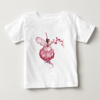 Blowing Pink Hearts Tee Shirts