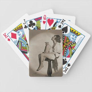 Blowing Smoke 1922 Bicycle Playing Cards