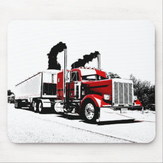 Blowing Through Peterbilt Mousepad